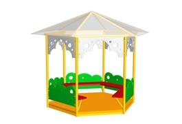 Беседки для детского сада и дачи