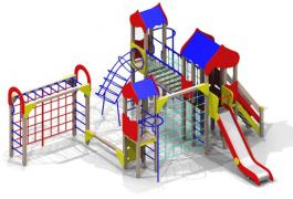 Детские игровые комплексы улица