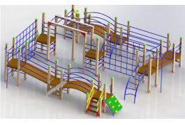 Детские гимнастические комплексы