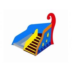 Игровая горка улица «Ладья с трапом» (0,5 м) [ИСУ-06.01/01]