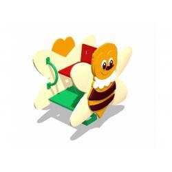 """Качалка на пружине """"Пчелка"""" [ИСУ-10.01.03]"""