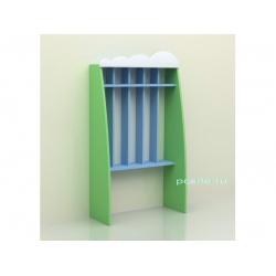Шкаф для полотенец напольный пятисекционный «Облако» (фанера) МД-07.06-Ф