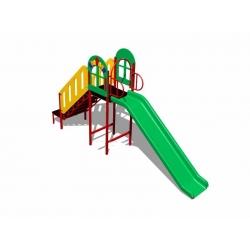 Детская горка уличная «Окошко» (1 м) ИСУ-06.08