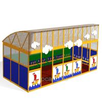 """Веранда """"Бриз"""" с прозрачной крышей [МАФ-2.03.01/01]"""