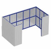 Ограждение для мусорных контейнеров МАФ-04.04/01
