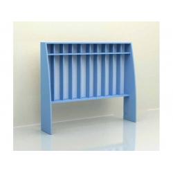 Шкаф для полотенец напольный 10 секций (ламинат) МД-07.04-Л