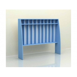 Шкаф для полотенец напольный 10 секций (фанера) МД-07.04-Ф