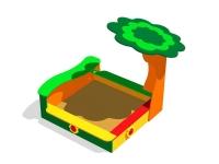 Песочница под деревом ИСУ-05.15