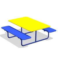Стол со скамейками «Друзья» МАФ-05.03