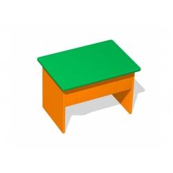 Стол прямоугольный (фанера) МД-01.03-Ф