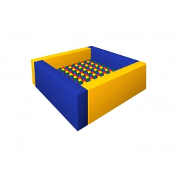 Сухой бассейн с шариками «Лужайка»