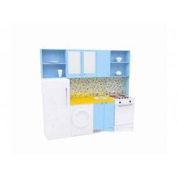 Игровая мебель «Кухня с холодильником» МИ-01.00/01-Ф