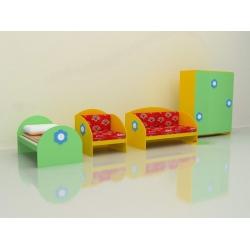 Набор игровой мебели «Жилая комната» МИ-03.01-Ф